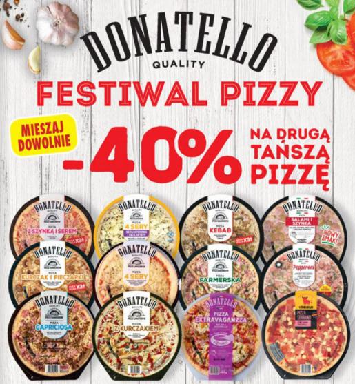 Druga tańsza pizza -40%