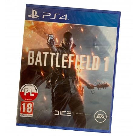 Battlefield 1 PS4 PO POLSKU + dostawa 10 zł lub darmowa powyżej 100 zł