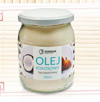 Olej kokosowy (rafinowany, bezzapachowy) 500ml za 8,49zł @ Biedronka