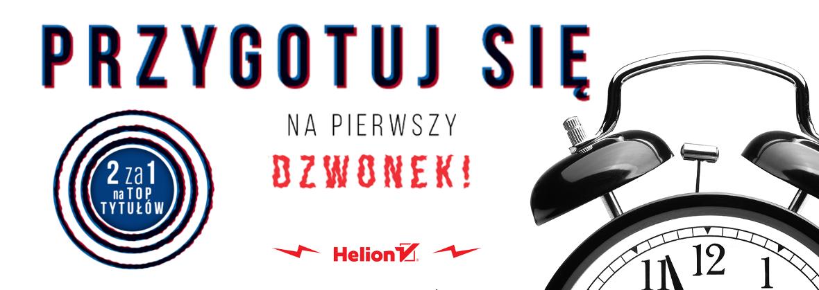 Najlepsze 100 tytułów wakacji w promocji 2za1 @ Helion, OnePress, Sensus