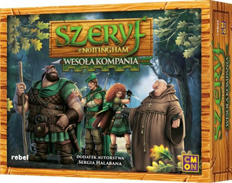 Szeryf z Nothingam: Wesoła Kompania - gra planszowa/karciana (dodatek)