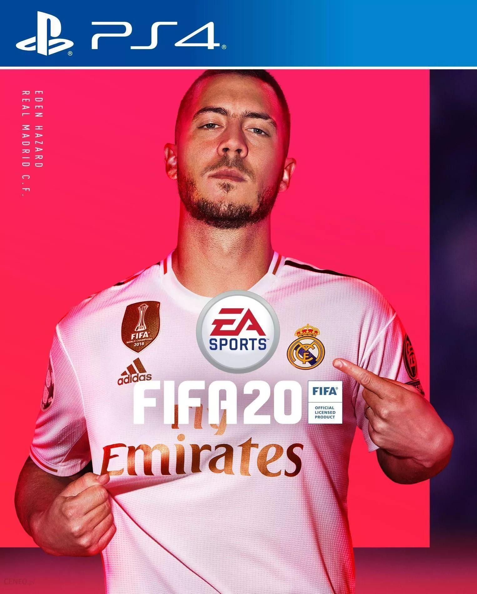 FIFA 20 PS4, wersja cyfrowa, polski PSN.
