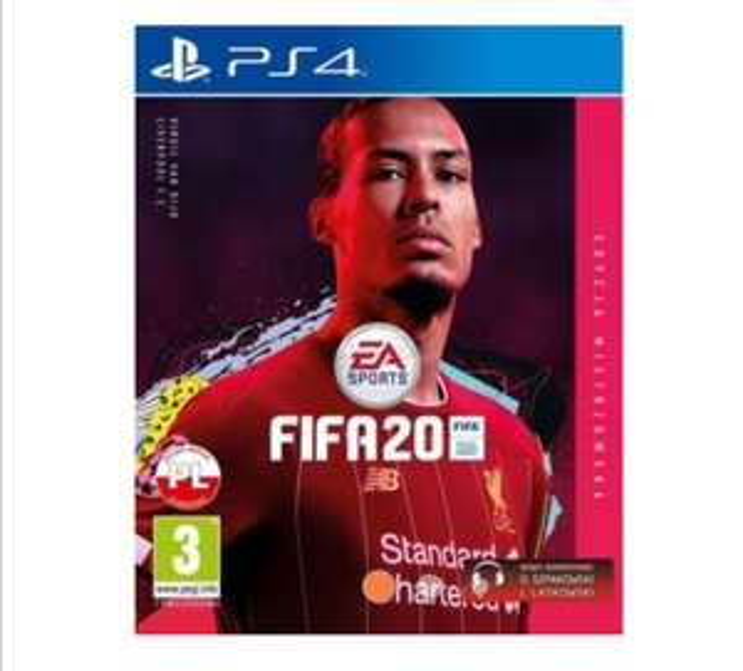 FIFA 20 PS4 Edycja Mistrzowska