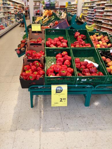 Papryka czerwona za 2.99