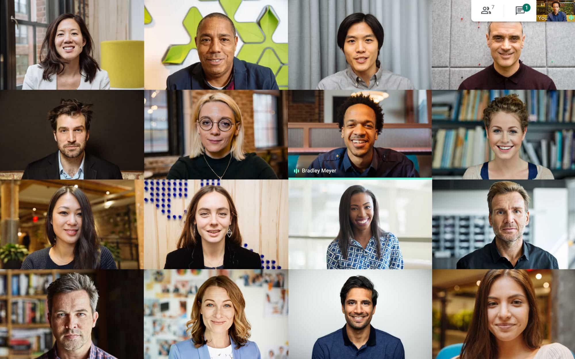 Google Meet za darmo (250 uczestników, 100000 widzów, bez limitu rozmowy) dostępny do 30 września