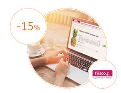 Kupon na pierwsze zakupy we Frisco dla klientów ING online