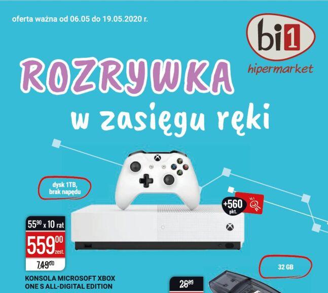 Konsola Xbox One S All-Digital