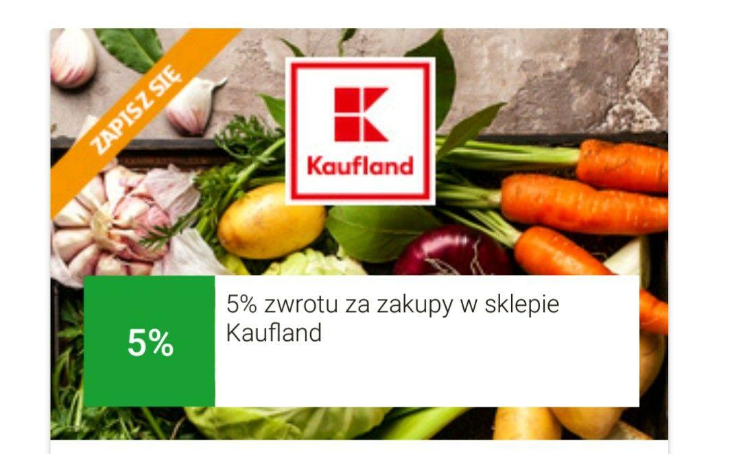 mBank mOkazje cashback 5% zwrotu za zakupy w Kaufland MWZ 60 zł