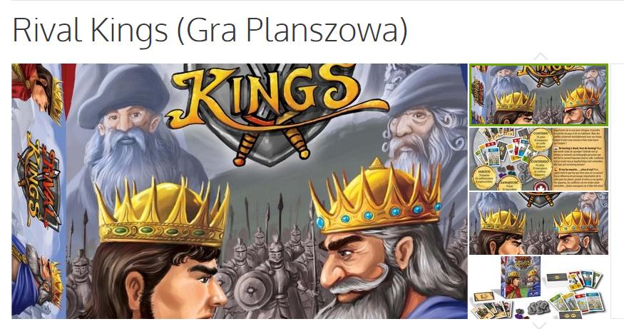 Rival Kinga - planszowka