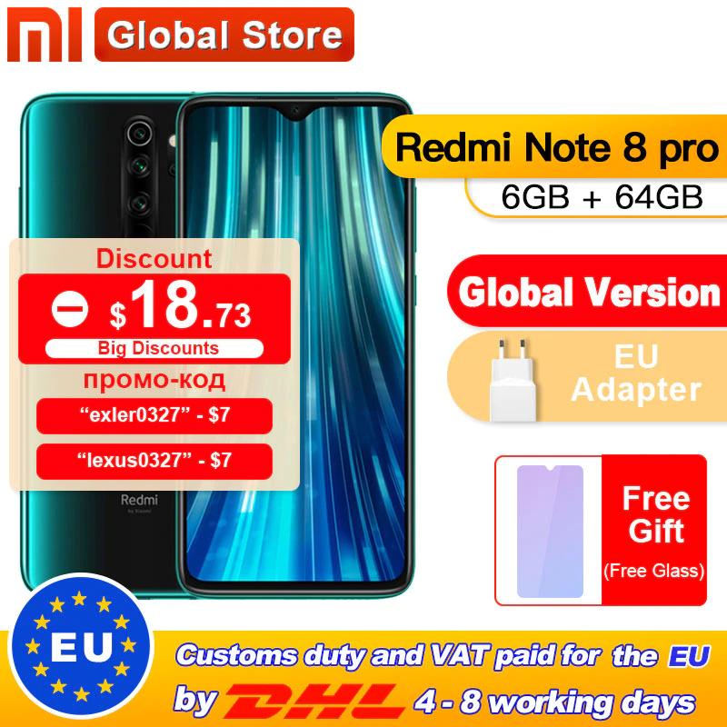 Xiaomi Redmi Note 8 Pro 6/64GB (lub 698 zł z kuponem??)