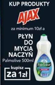 Płyn do naczyń za 1zł przy zakupie produktów Ajax za min.10zł @ Carrefour