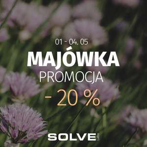 -20% na suplementy w Solve Labs