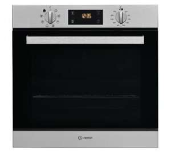 Piekarnik elektryczny Indesit IFW 6544 IX.1, grill, rozmrażanie, termoobieg, 71L