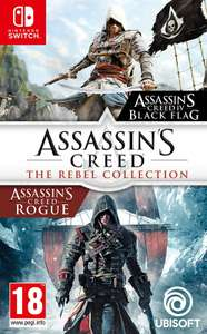 Assassins Creed: The Rebel Collection na Switcha (i kilka innych gier)