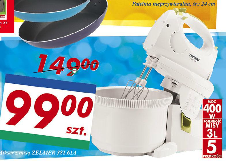 ZELMER 381.61 A (mikser z misą) za 99 zł @ Auchan
