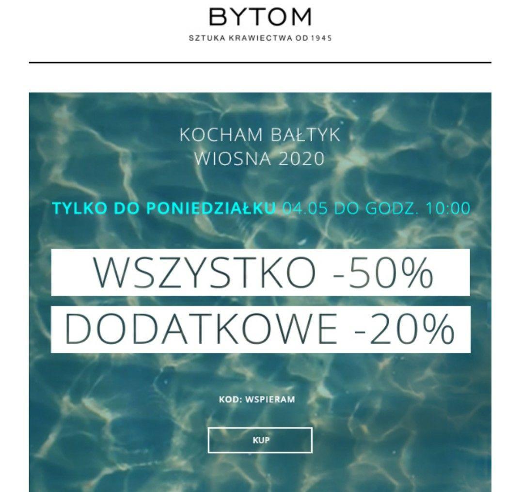 Bytom -50% + dodatkowe -20% kolekcja wiosna lato