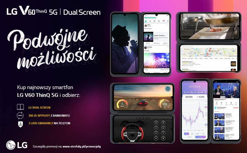 LG V60 ThinkQ 5G z GRATISAMI [ Przedsprzedaż]