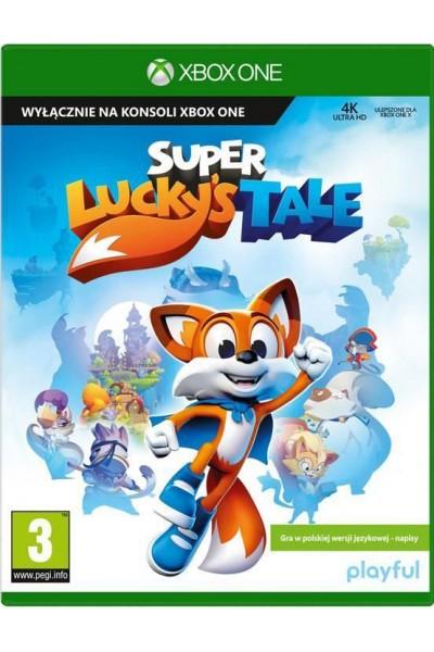 Super Luckys Tale PL + nakładki na analogi Xbox One
