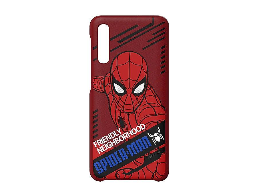 Etui cover Samsung do smartfona Galaxy A50 Dynamic Spiderman, z poliwęglanu