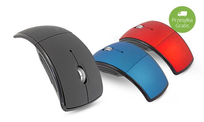 Składana bezprzewodowa mysz do komputera!
