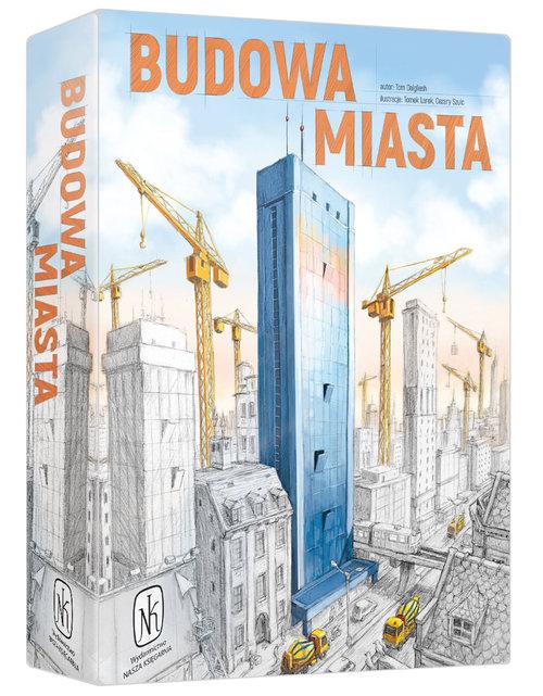 Budowa miasta - gra planszowa