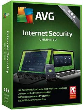 AVG Internet Security 2020 - na 13 lat (do 2033)