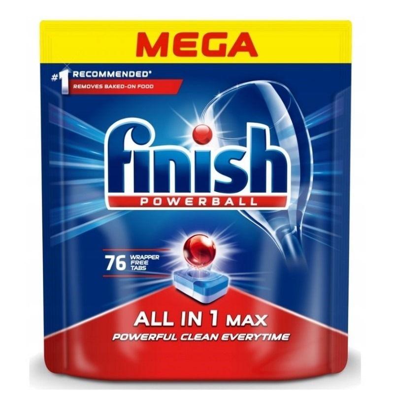 SMYK - Finish tabletki do zmywarki FINISH All In 1 Max, 49za sztukę przy 5 paczkach