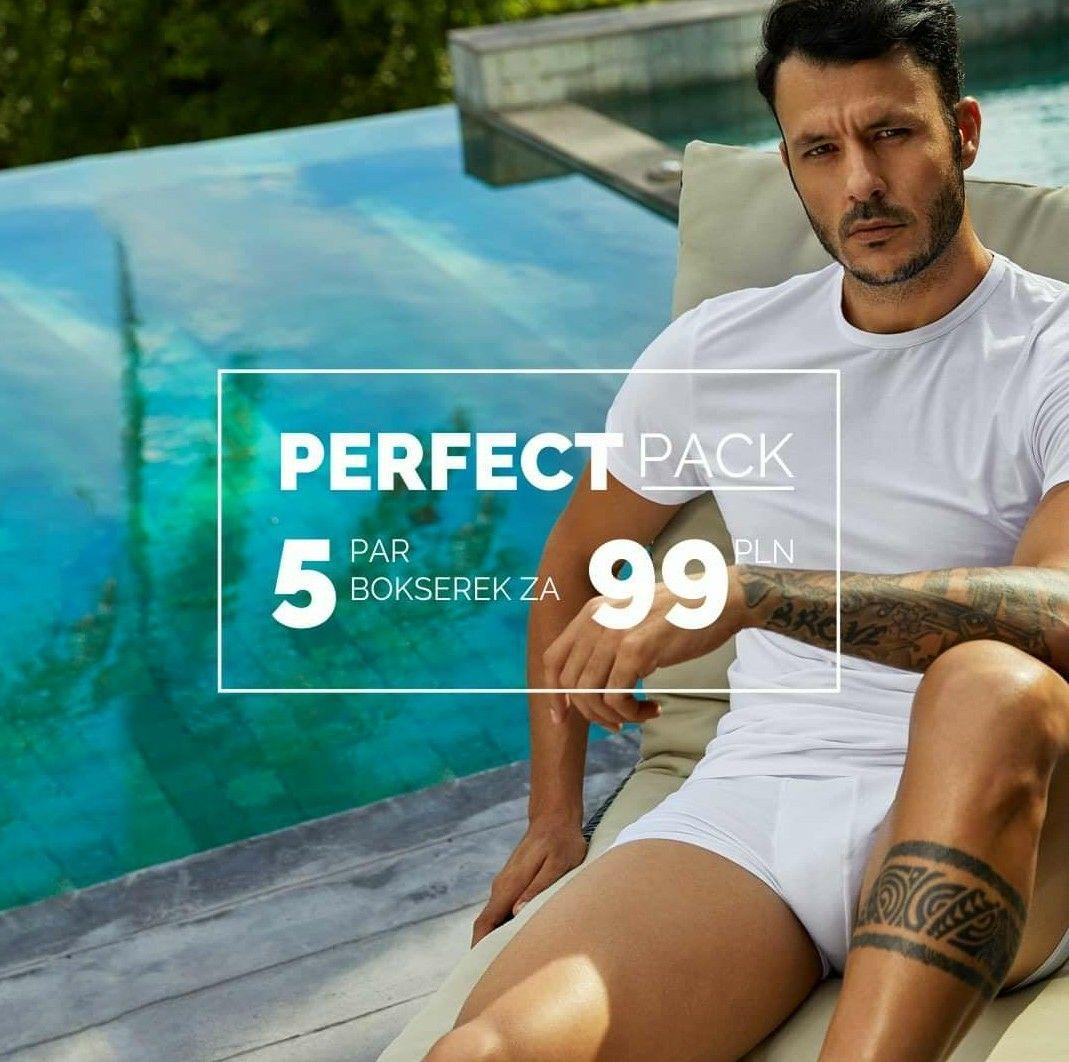 Bokserki HENDERSON Perfect Pack 5 par za 99 zł + wysyłka gratis MWZ 150 zł