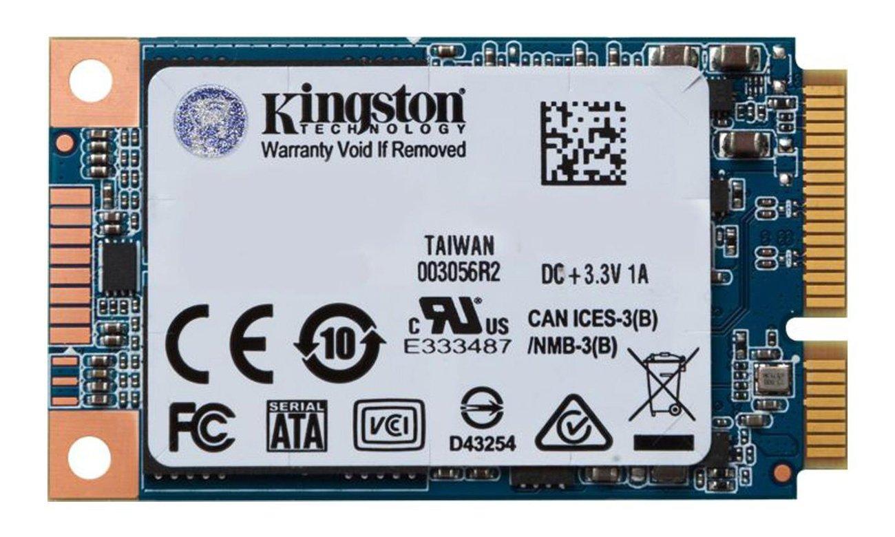 Kingston 480GB mSATA SSD UV500