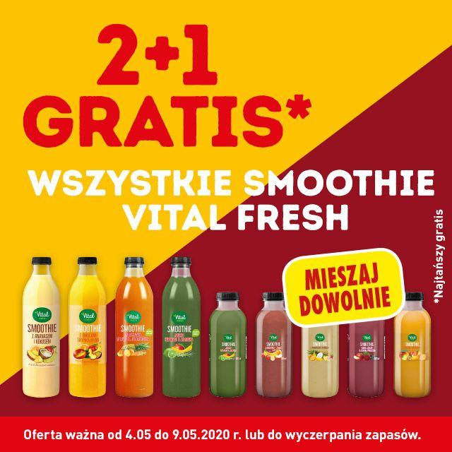 Wszystkie Smoothie Vital Fresh 2+1