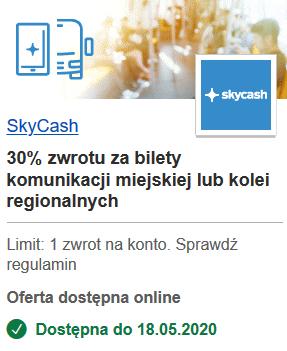 SkyCash - 5zł zwrotu z VisaOferty