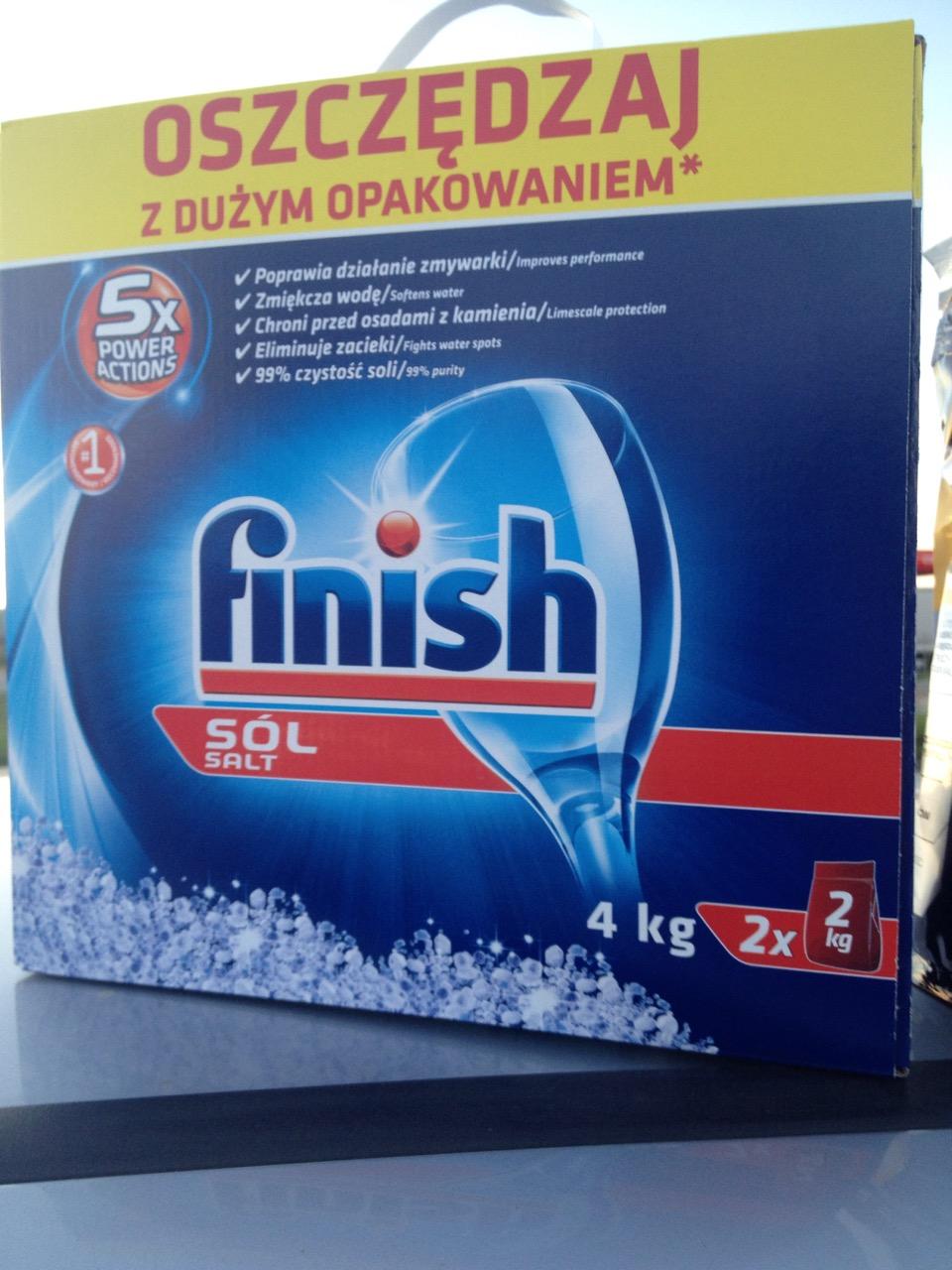 Sol do zmywarki Finish 4kg @ Biedronka