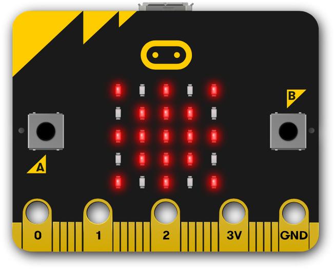 BBC zestaw edukacyjny micro:bit GO! Do nauki programowania dla najmłodszych.