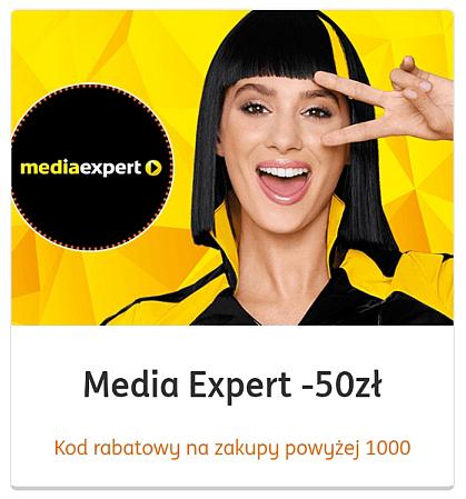 Tylko dla Klientów banku ING kupony do MediaExpert