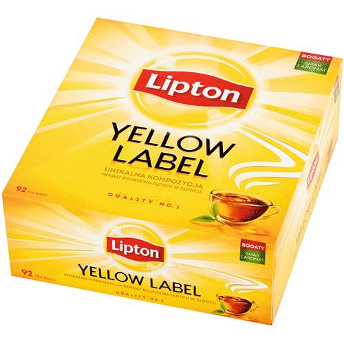 Herbata Lipton Yellow Label 92 torebek w sklepie Intermarche