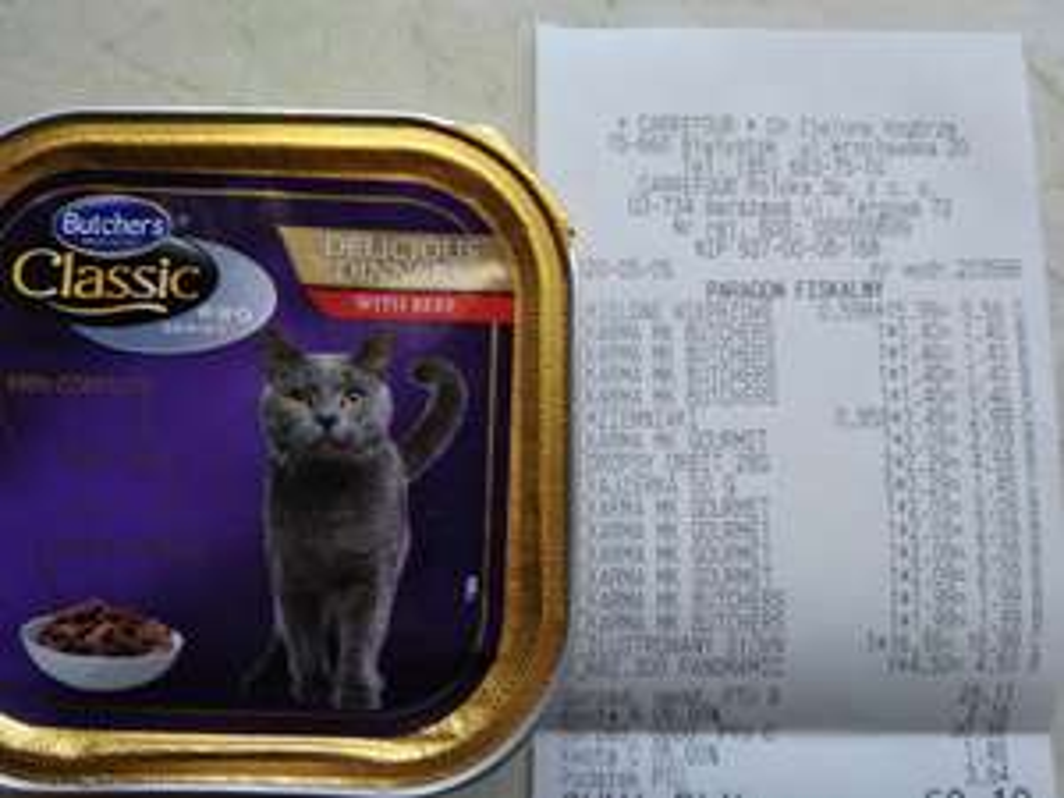 Karma Butchers dla kotów Carrefour