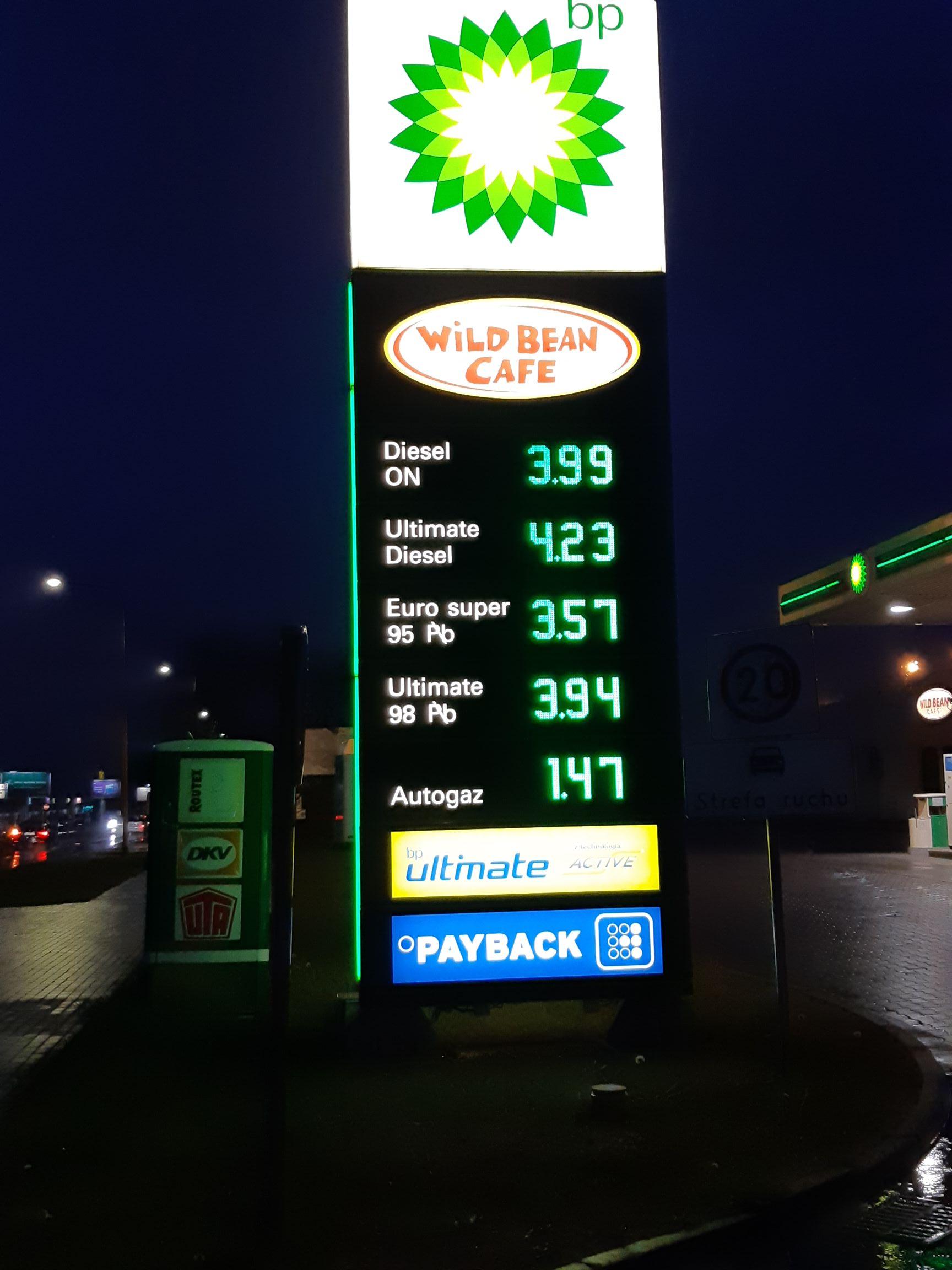BP tani gaz