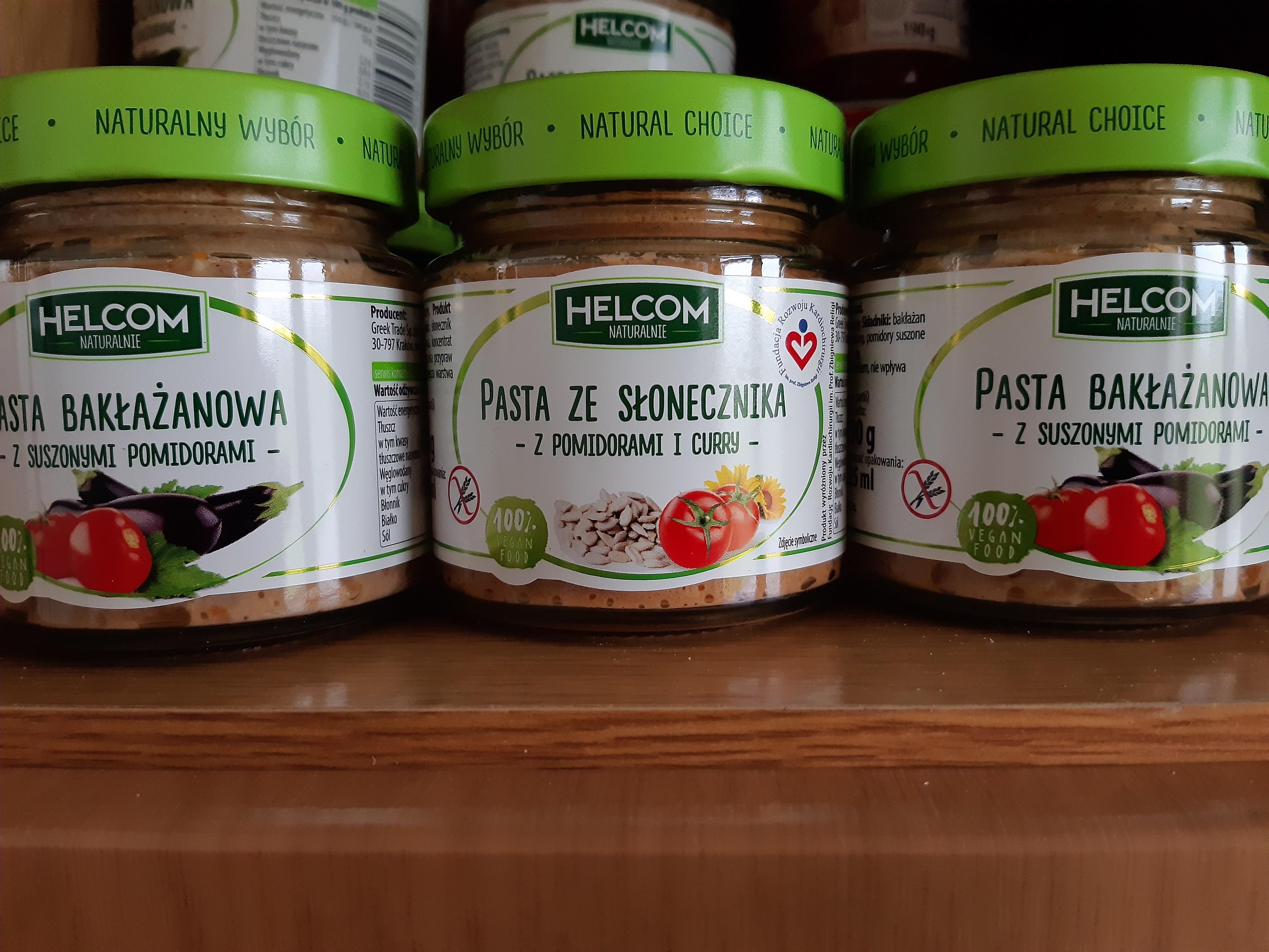 Pasty naturalne HELCOM Biedronka