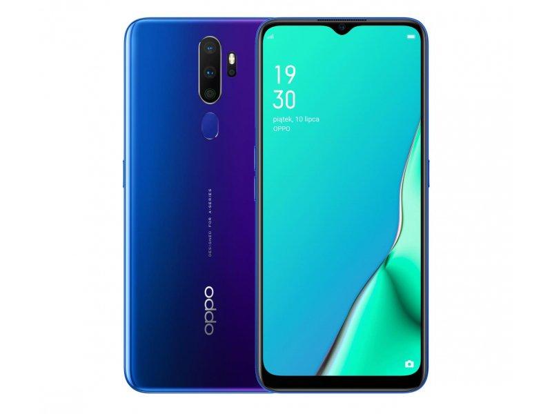 OPPO A9 2020 4/128GB Dual SIM niebieski i zielony