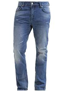 YOUR TURN Jeansy Straight leg - blue denim - 60% off @zalando