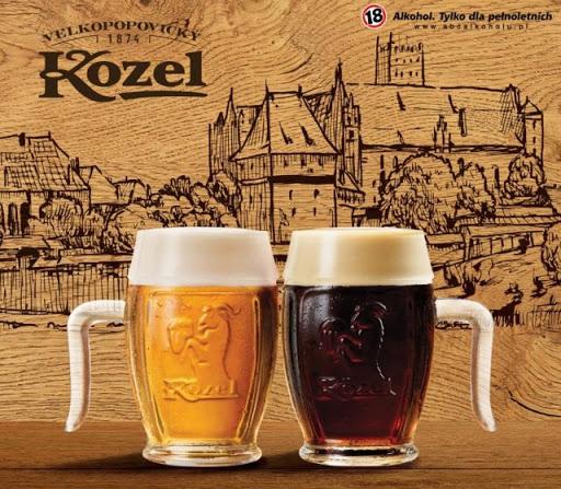 Super kufel do 8 dowolnych piw Kozel