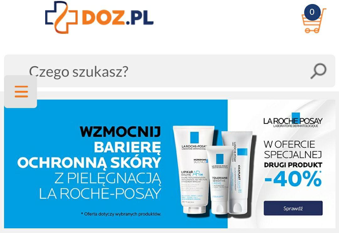 DOZ Drugi produkt La Roche-Posay - 40%