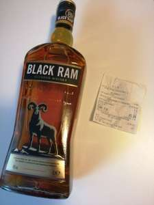 Black Ram blended whisky 1L Aldi