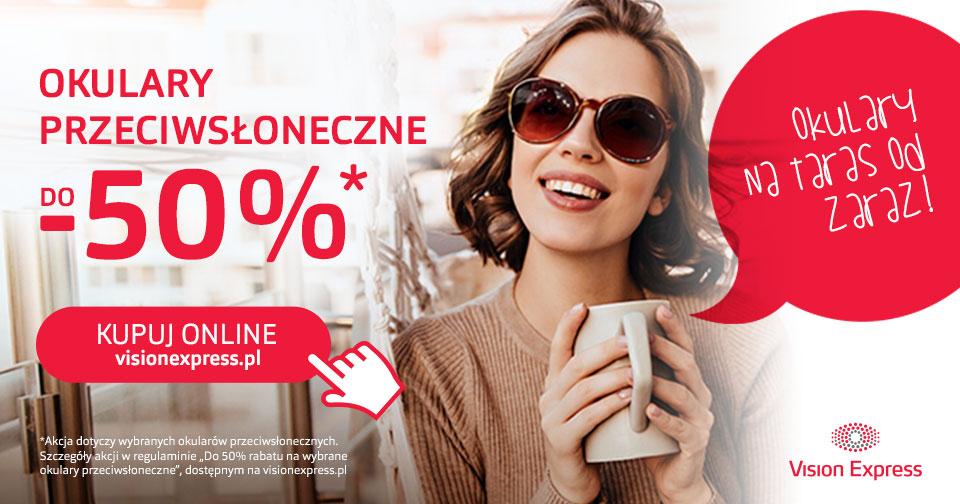 Zestawienie - Promocja do -50% na okulary przeciwsłoneczne Calvin Klein Jeans i inne