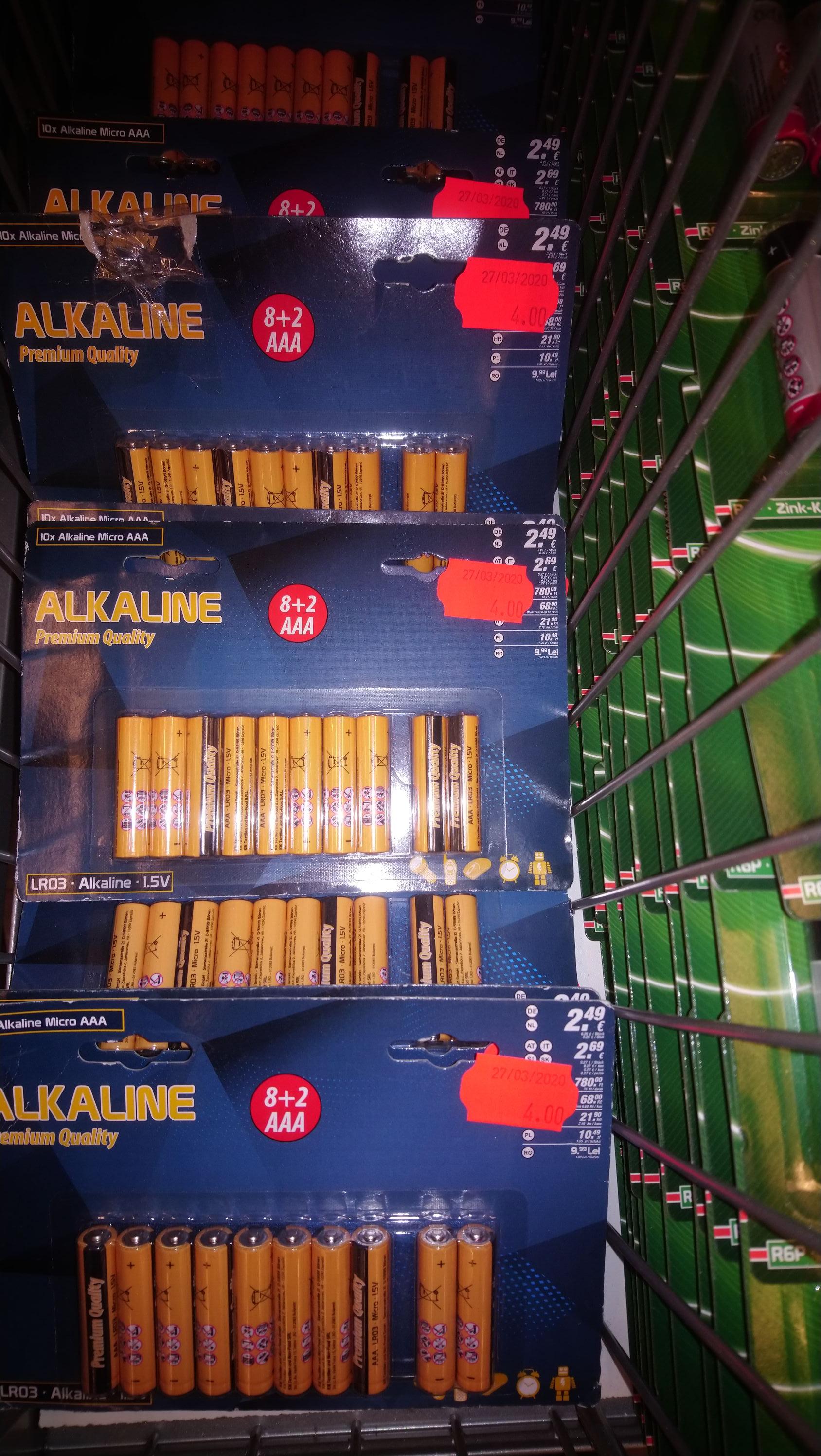 Baterie Alkaliczne AAA Kik Siemianowice Kapicy