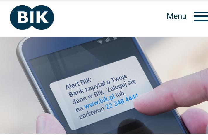 BIK daje bezpłatnie na 3 miesiące usługę alert kredytowy