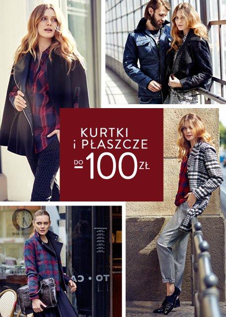 Wybrane modele kurtek i płaszczy nawet 100zł taniej @ Top Secret