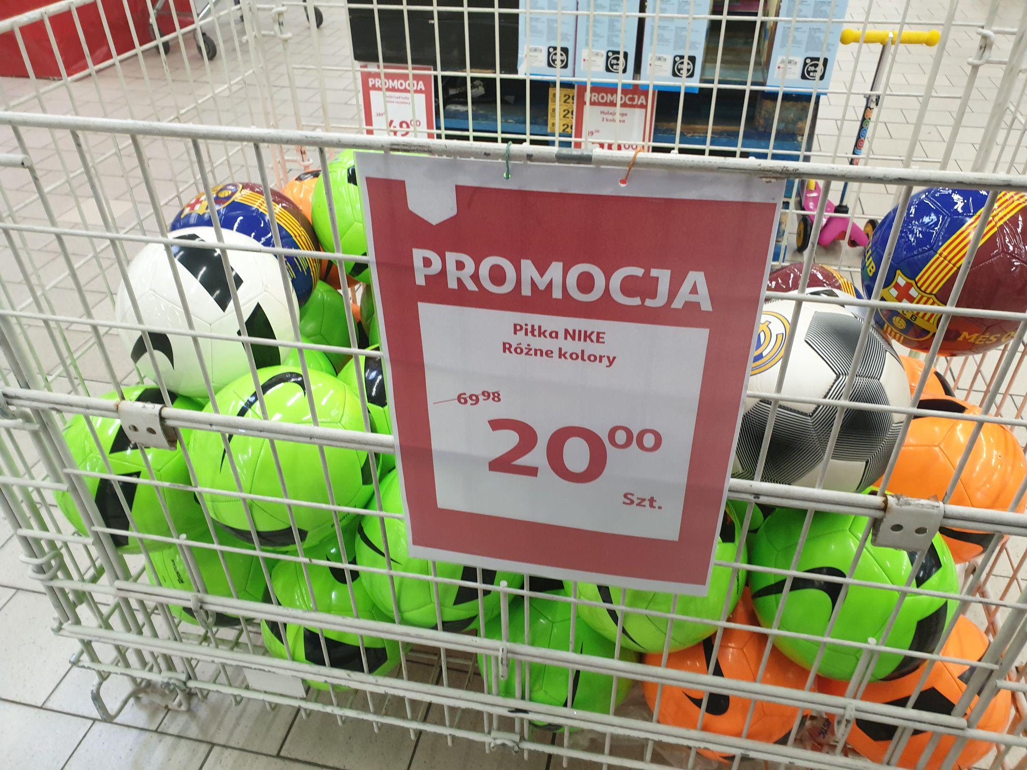 Piłki Nożne Nike rozmiar 5 Auchan