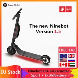 Hulajnoga elektryczna Ninebot by Segway ES4 z wysyłką z Hiszpanii @ DHgate