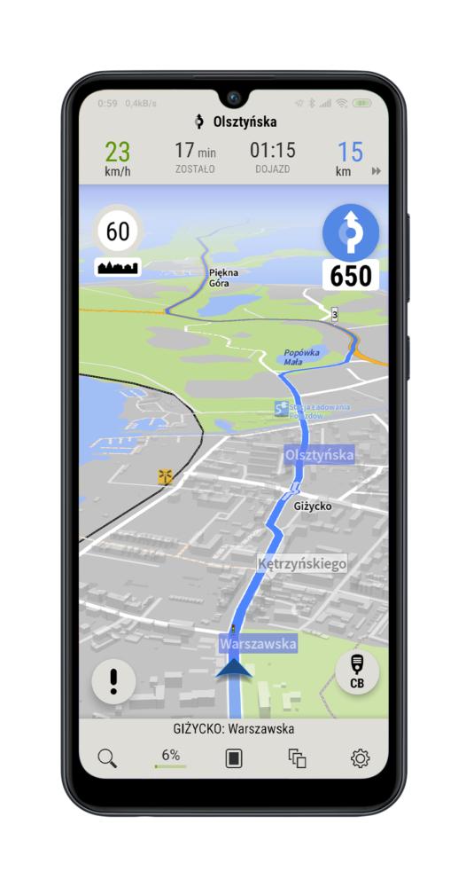 AutoMapa PL za darmo - na zawsze w telefonach Huawei